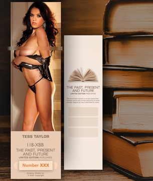 Tess Taylor [ # 118-XBB ] Bookmarks for Books - Limited