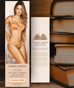 Sandra Kubicka [ # 119-XBB ] Bookmarks for Books - Limited
