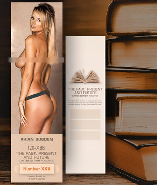 Rhian Sugden [ # 120-XBB ] Bookmarks for Books - Limited
