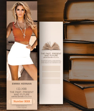 Emma Hernan [ # 122-XBB ] Bookmarks for Books - Limited