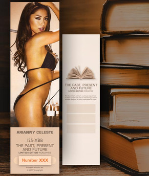 Arianny Celeste [ # 125-XBB ] Bookmarks for Books - Limited