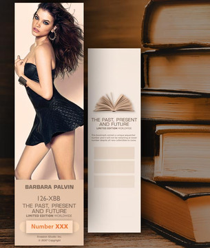 Barbara Palvin [ # 126-XBB ] Bookmarks for Books - Limited