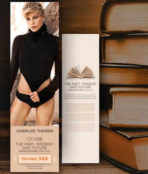 Charlize Theron [ # 127-XBB ] Bookmarks for Books - Limited