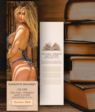 Charlotte McKinney [ # 128-XBB ] Bookmarks for Books - Limited