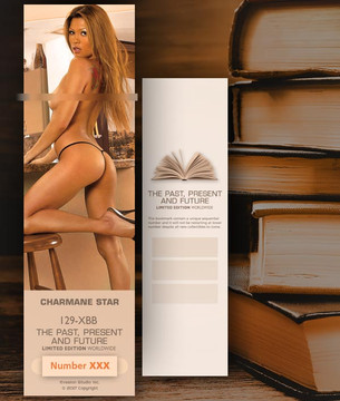 Charmane Star [ # 129-XBB ] Bookmarks for Books - Limited
