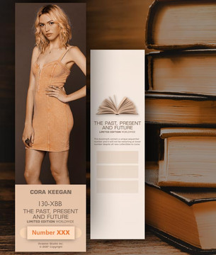 Cora Keegan [ # 130-XBB ] Bookmarks for Books - Limited