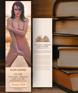 Ellen Adarna [ # 132-XBB ] Bookmarks for Books - Limited