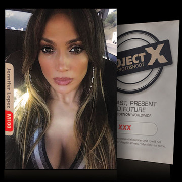 Jennifer Lopez [ ID: M100 #XX ] PROJECT X LIMITED EDITION CARDS