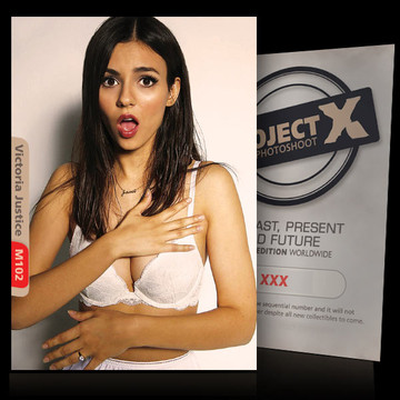 Victoria Justice [ ID: M102 #XX ] PROJECT X LIMITED EDITION CARDS