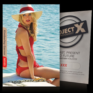 Kimberley Garner [ ID: M105 #XX ] PROJECT X LIMITED EDITION CARDS