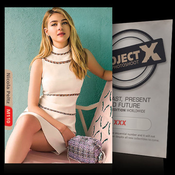 Nicola Peltz [ ID: M110 #XX ] PROJECT X LIMITED EDITION CARDS