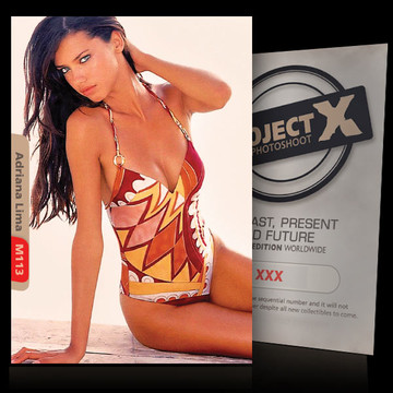 Adriana Lima [ ID: M113 #XX ] PROJECT X LIMITED EDITION CARDS