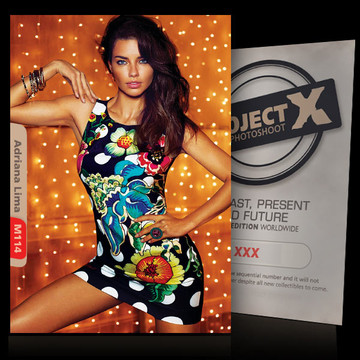 Adriana Lima [ ID: M114 #XX ] PROJECT X LIMITED EDITION CARDS