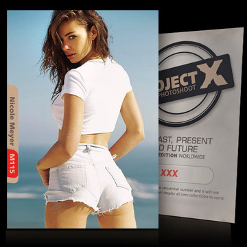 Nicole Meyer [ ID: M115 #XX ] PROJECT X LIMITED EDITION CARDS