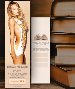 Hannah Ferguson [ # 135-XBB ] Bookmarks for Books - Limited