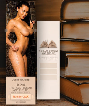 Julri Waters [ # 136-XBB ] Bookmarks for Books - Limited