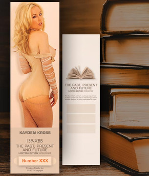 Kayden Kross [ # 139-XBB ] Bookmarks for Books - Limited