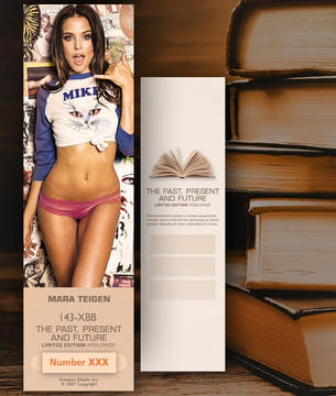 Mara Teigen [ # 143-XBB ] Bookmarks for Books - Limited