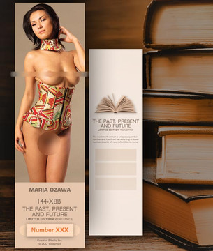 Maria Ozawa [ # 144-XBB ] Bookmarks for Books - Limited