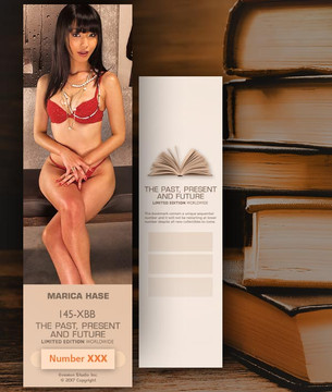 Marica Hase [ # 145-XBB ] Bookmarks for Books - Limited