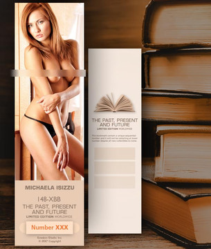 Michaela Isizzu [ # 148-XBB ] Bookmarks for Books - Limited