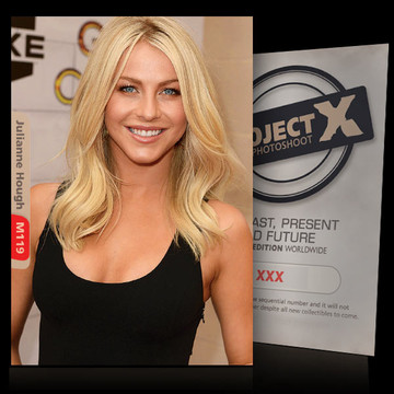 Julianne Hough [ ID: M119 #XX ] PROJECT X LIMITED EDITION CARDS