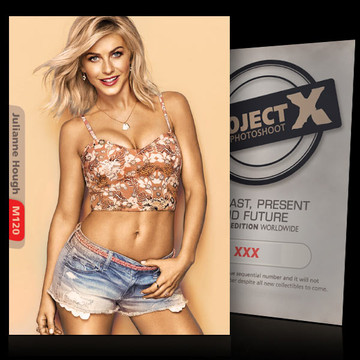 Julianne Hough [ ID: M120 #XX ] PROJECT X LIMITED EDITION CARDS