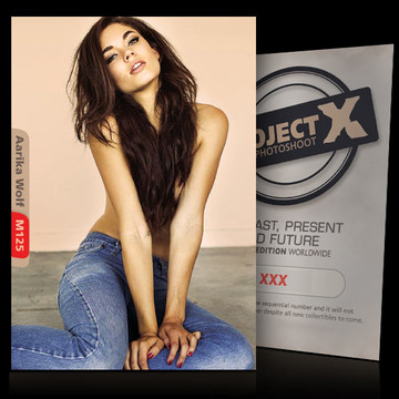 Aarika Wolf [ ID: M125 #XX ] PROJECT X LIMITED EDITION CARDS