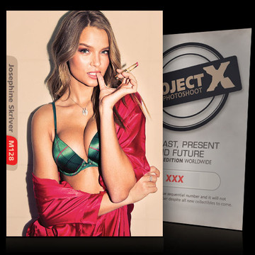 Josephine Skriver [ ID: M128 #XX ] PROJECT X LIMITED EDITION CARDS