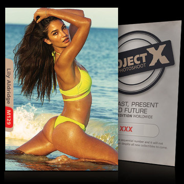Lily Aldridge [ ID: M129 #XX ] PROJECT X LIMITED EDITION CARDS