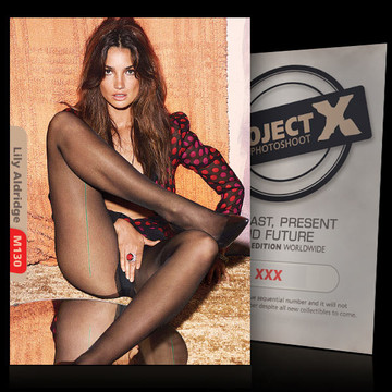 Lily Aldridge [ ID: M130 #XX ] PROJECT X LIMITED EDITION CARDS
