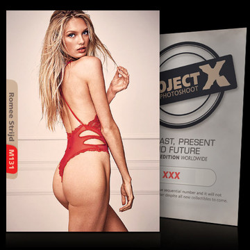 Romee Strijd [ ID: M131 #XX ] PROJECT X LIMITED EDITION CARDS