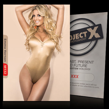 Emma Hernan [ ID: M132 #XX ] PROJECT X LIMITED EDITION CARDS