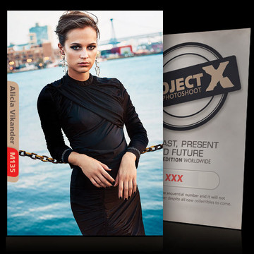 Alicia Vikander [ ID: M135 #XX ] PROJECT X LIMITED EDITION CARDS