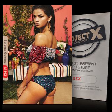 Selena Gomez [ ID: M142 #XX ] PROJECT X LIMITED EDITION CARDS
