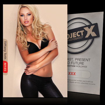 Tiffany Toth [ ID: M145 #XX ] PROJECT X LIMITED EDITION CARDS