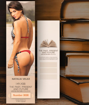 Natalia Velez [ # 149-XBB ] Bookmarks for Books - Limited