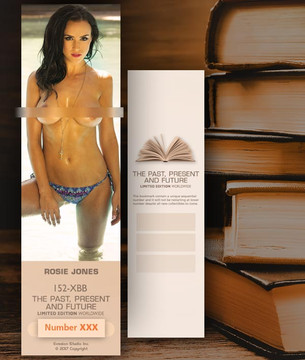 Rosie Jones [ # 152-XBB ] Bookmarks for Books - Limited