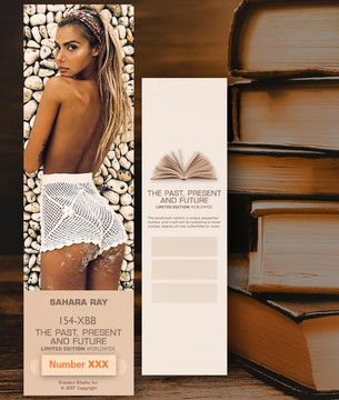Sahara Ray [ # 154-XBB ] Bookmarks for Books - Limited