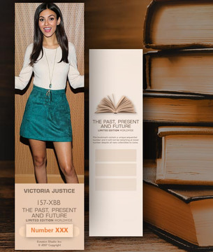 Victoria Justice [ # 157-XBB ] Bookmarks for Books - Limited