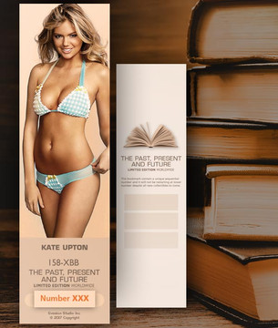 Kate Upton [ # 158-XBB ] Bookmarks for Books - Limited