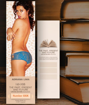 Adriana Lima [ # 160-XBB ] Bookmarks for Books - Limited