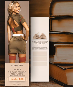 Alexis Ren [ # 161-XBB ] Bookmarks for Books - Limited