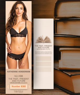Katherine Henderson [ # 162-XBB ] Bookmarks for Books - Limited