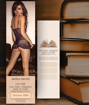 Nicole Meyer [ # 163-XBB ] Bookmarks for Books - Limited