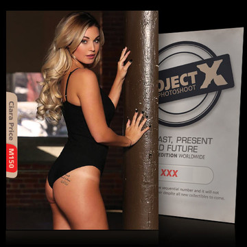 Ciara Price [ ID: M150 #XX ] PROJECT X LIMITED EDITION CARDS