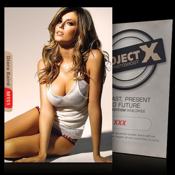 Diora Baird [ ID: M151 #XX ] PROJECT X LIMITED EDITION CARDS