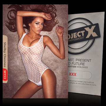 Shelby Chesnes [ ID: M153 #XX ] PROJECT X LIMITED EDITION CARDS