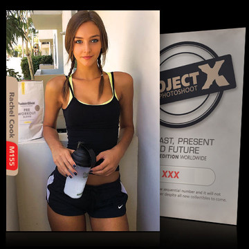 Rachel Cook [ ID: M155 #XX ] PROJECT X LIMITED EDITION CARDS