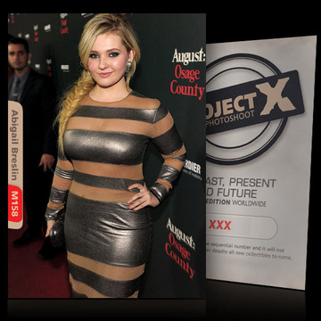 Abigail Breslin [ ID: M158 #XX ] PROJECT X LIMITED EDITION CARDS